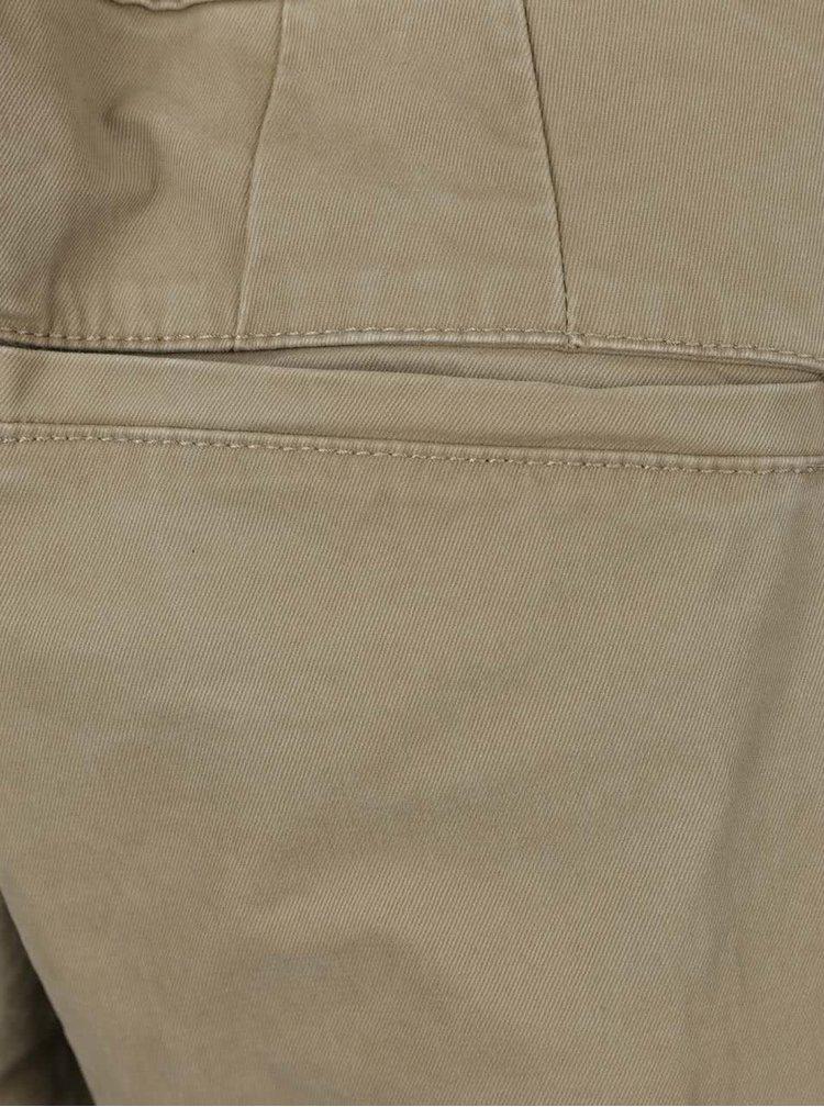 Béžové chino kalhoty ONLY & SONS Sharp