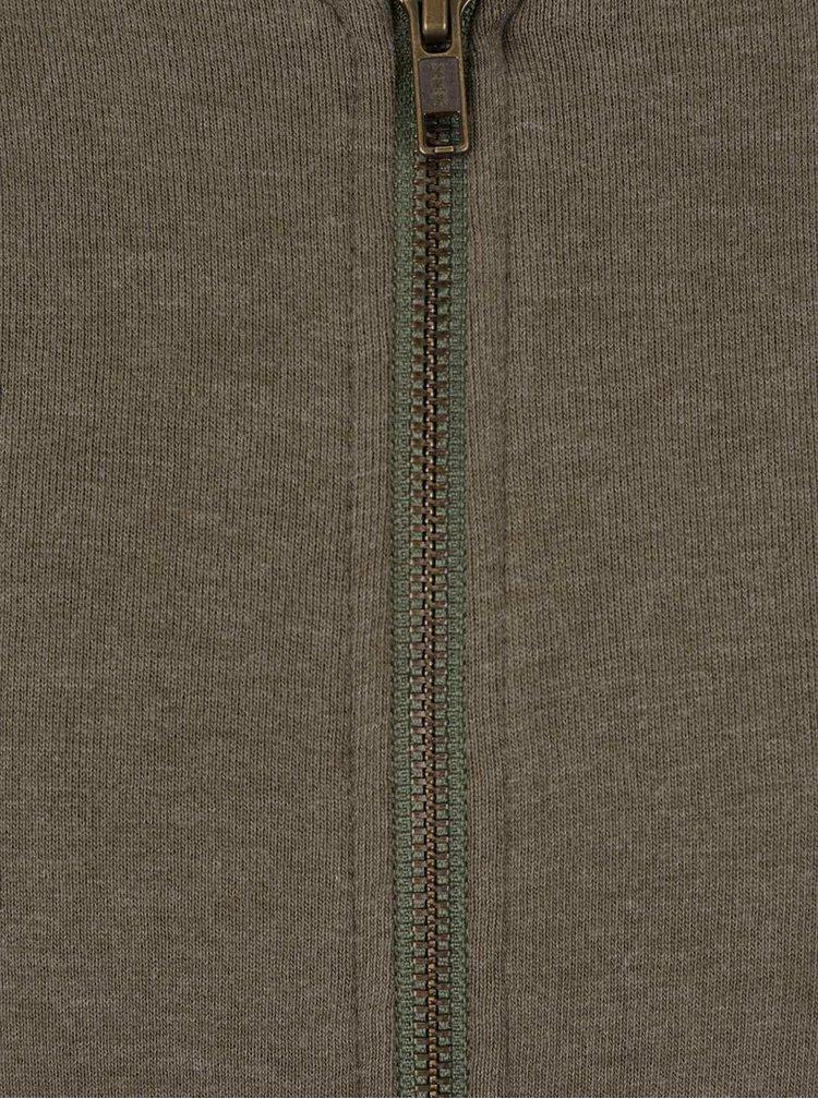 Zelená mikina na zip ONLY & SONS Zip