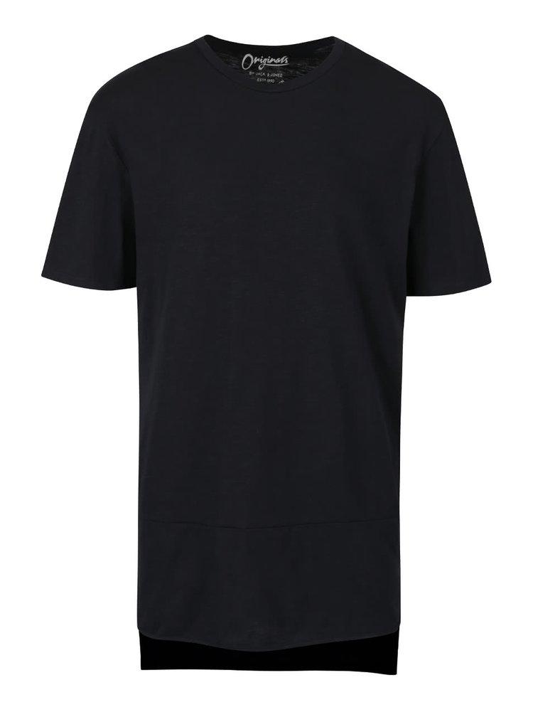 Černé triko Jack & Jones Superb