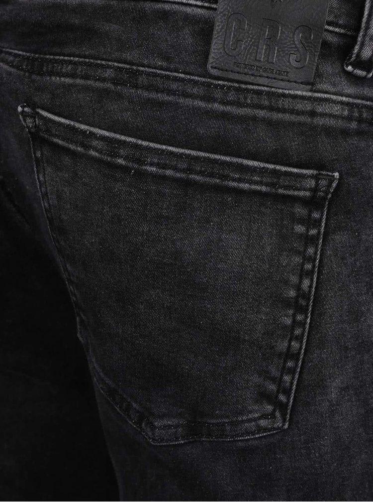 Tmavě šedé dámské skinny džíny Cars Morgan