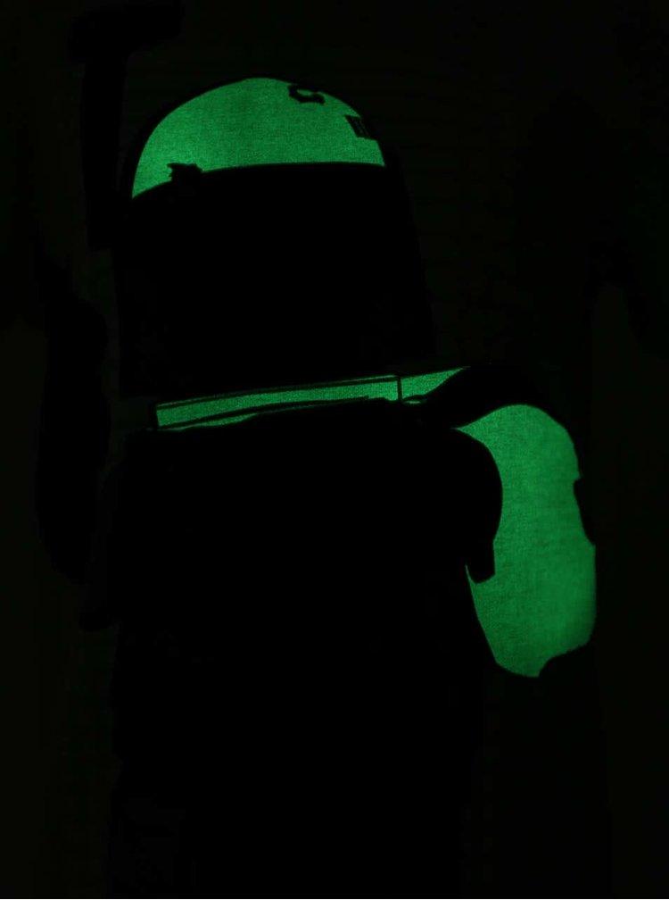 Šedé klučičí triko se svítícím potiskem LEGO Wear Teo