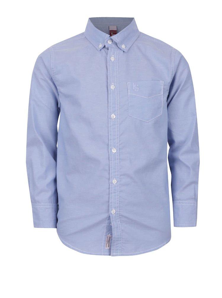 Modrá klučičí košile s kapsičkou 5.10.15.