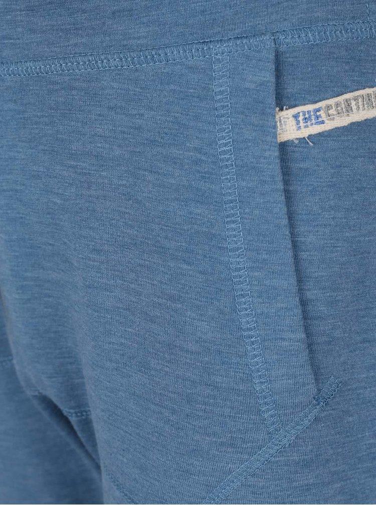 Modré klučičí tepláky s dvojbarevnou tkaničkou 5.10.15.