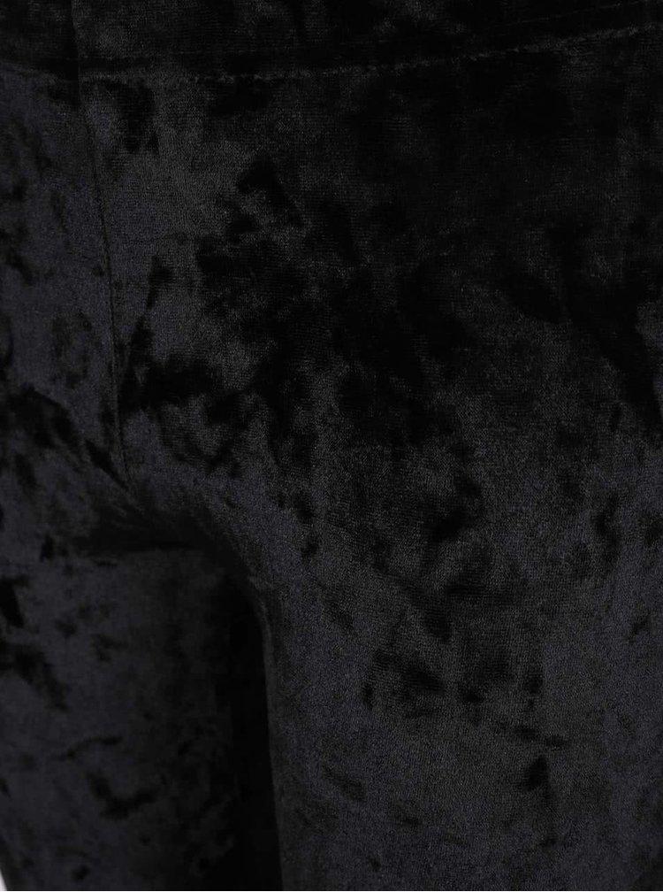 Černé sametové holčičí legíny 5.10.15.