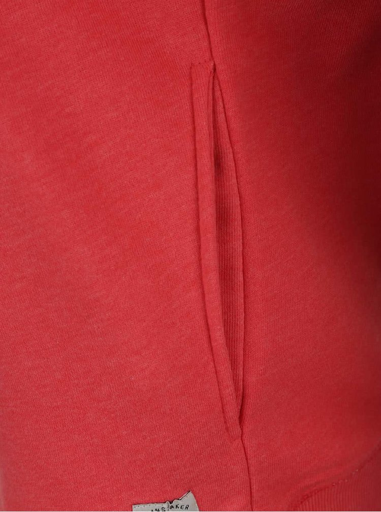 Hanorac roșu cu imprimeu personalizat Blend