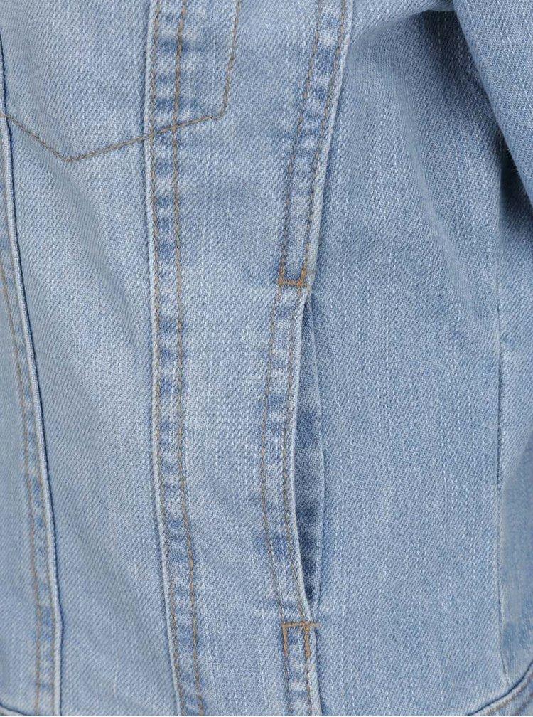 Světle modrá džínová bunda VERO MODA Danger
