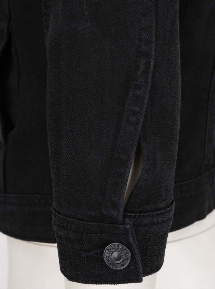 Černá džínová bunda VERO MODA Danger