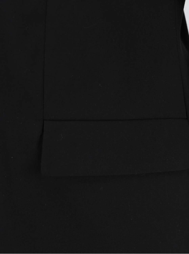 Sacou negru cu mâneci 3/4 VERO MODA Milla