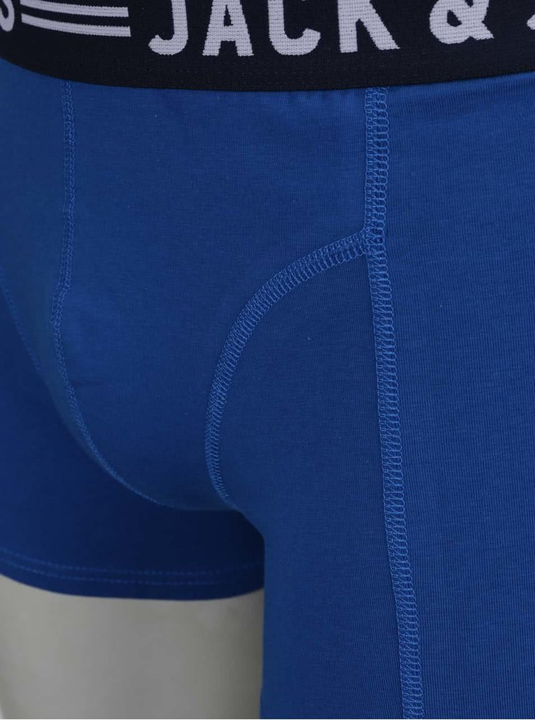Modré boxerky Jack & Jones Sense