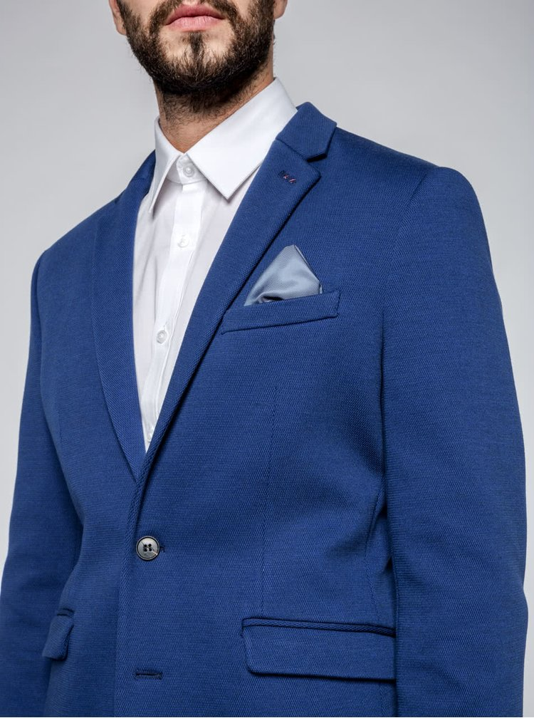 Modré sako Selected Homme One Owen