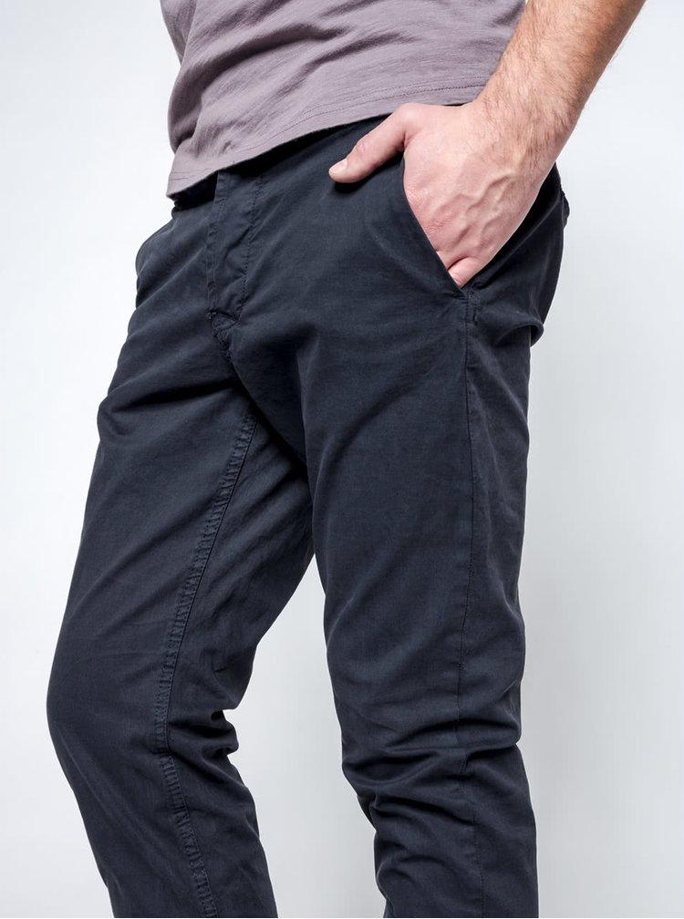 Tmavě modré chino kalhoty ONLY & SONS Sharp
