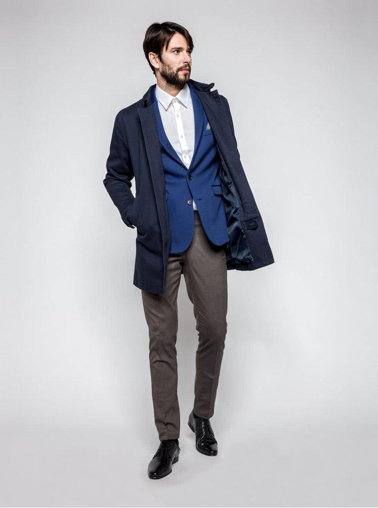 Tmavě modrý lehký kabát ONLY & SONS Journal