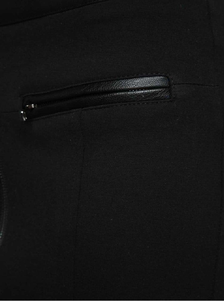 Černá minisukně  s falešnými kapsami Alchymi Amara