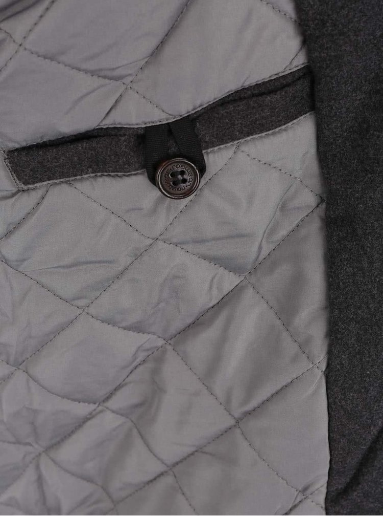 Jacheta negru melanj cu gluga Ragwear Eagle