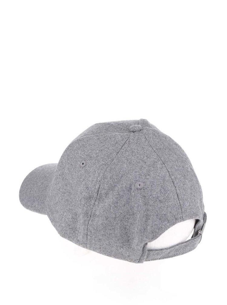 Tmavě šedá kšiltovka Burton Menswear London
