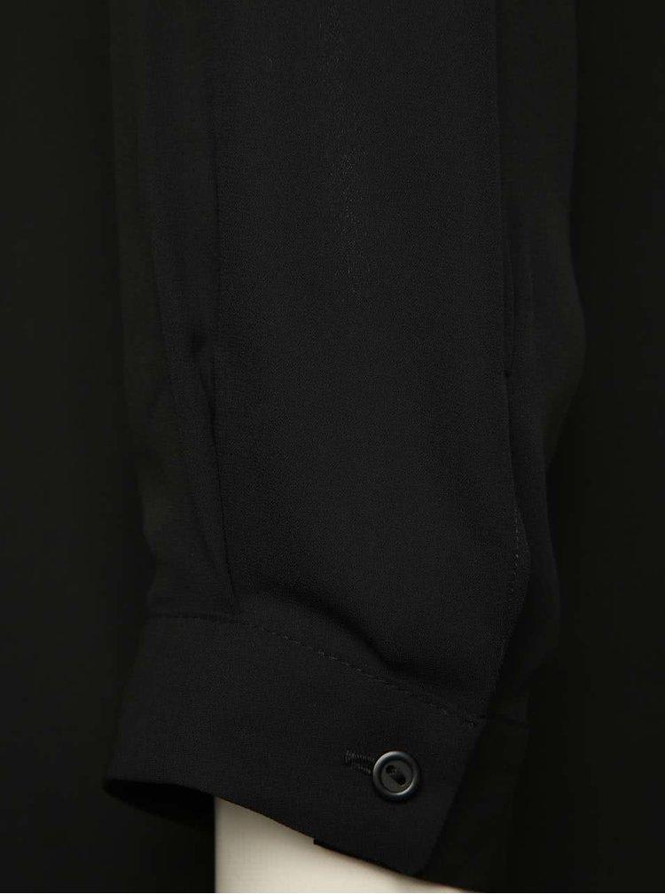 Černá propínací halenka Dorothy Perkins