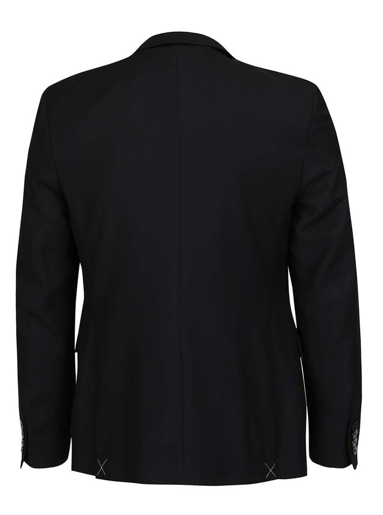 Černý slim-fit blejzr Burton Menswear London