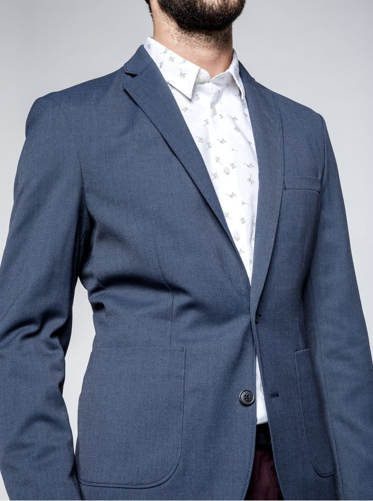 Modré sako Selected Homme