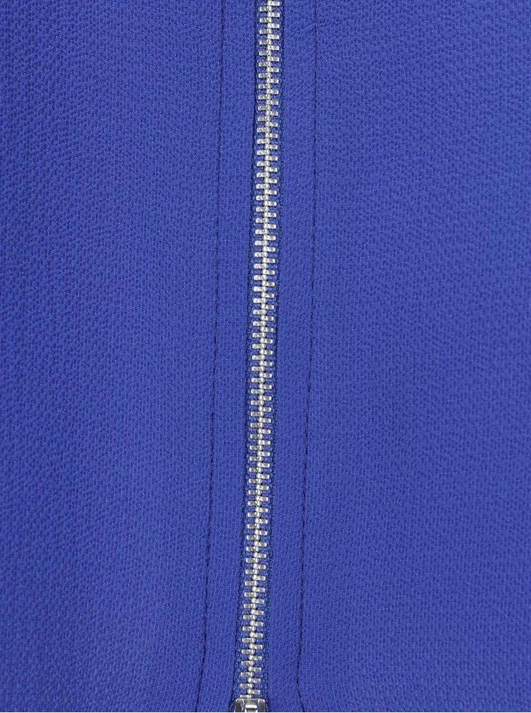 Modrá halenka s kapsou Dorothy Perkins Curve