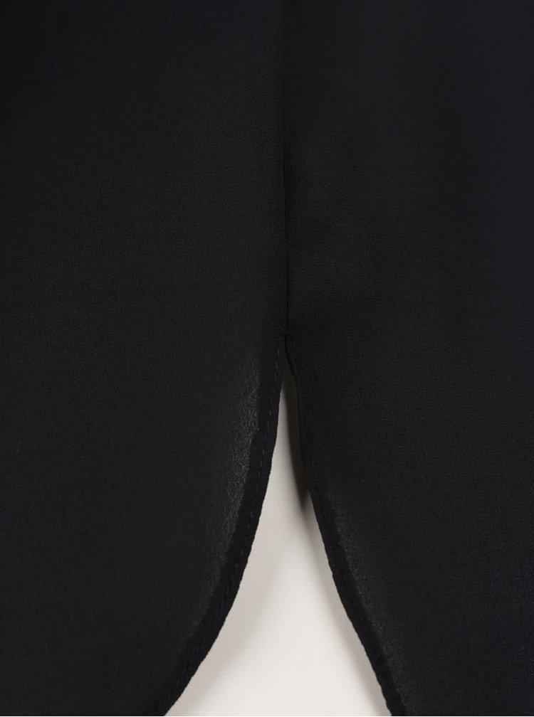 Černá halenka s dlouhým rukávem Dorothy Perkins