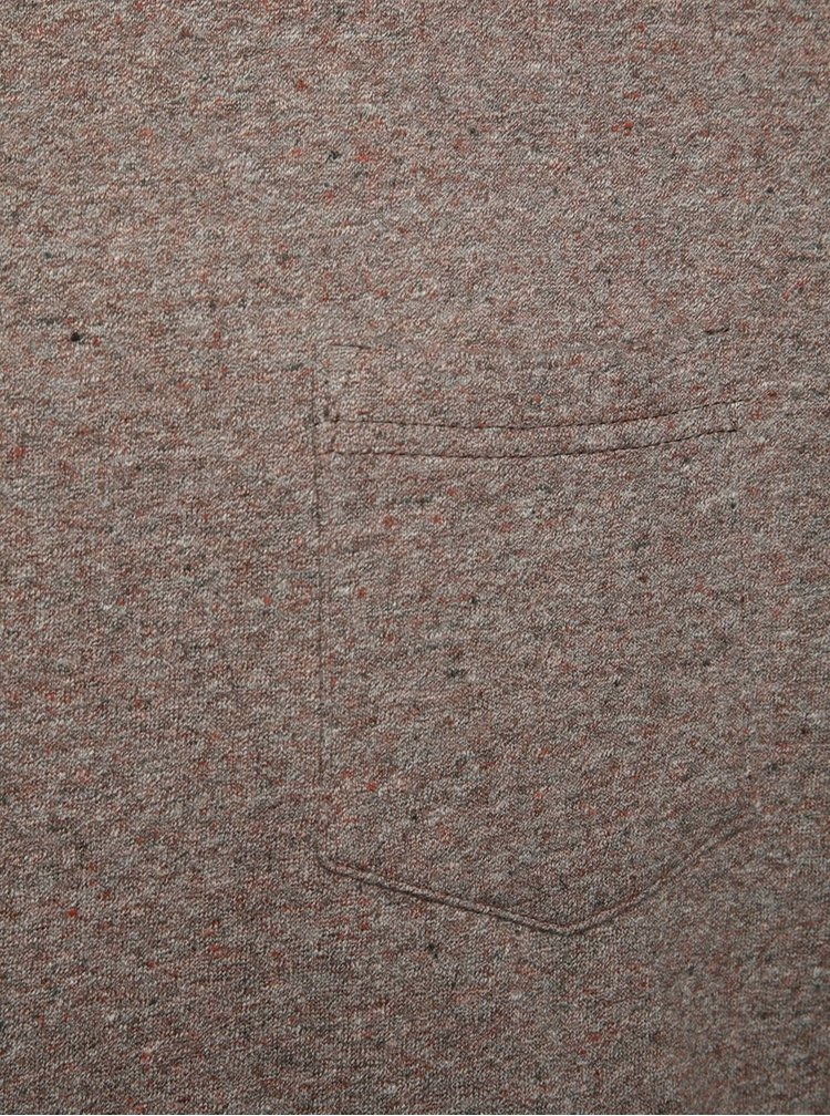 Hnědá lehká žíhaná mikina Burton Menswear London