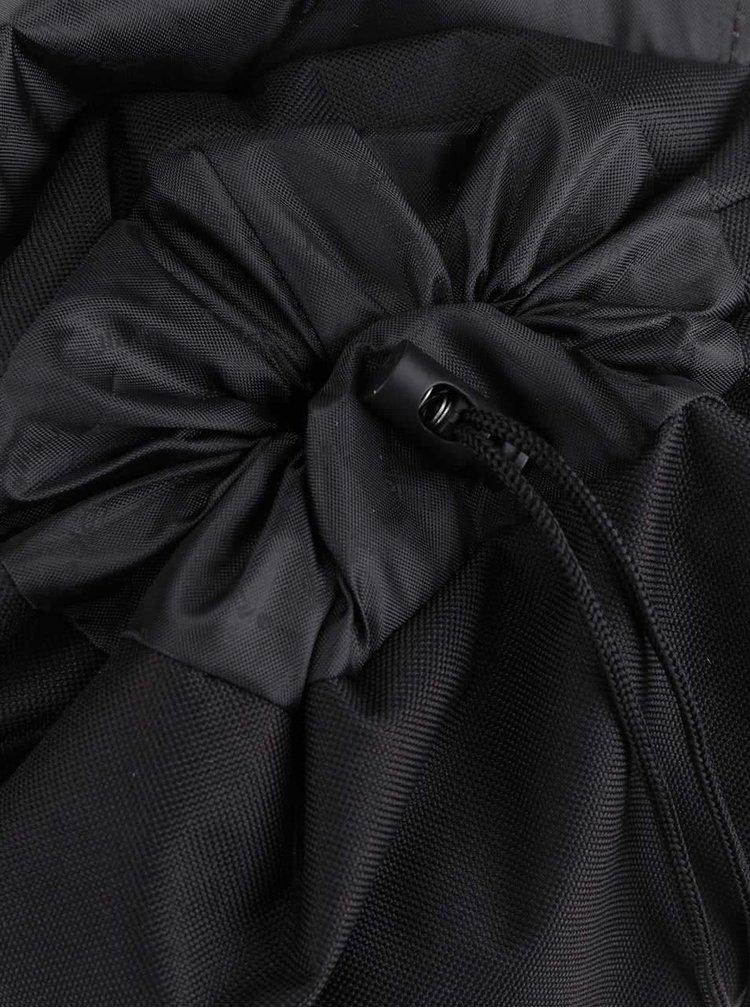 Černý unisex batoh se sponou na patent Spiral Tribeca 14 l