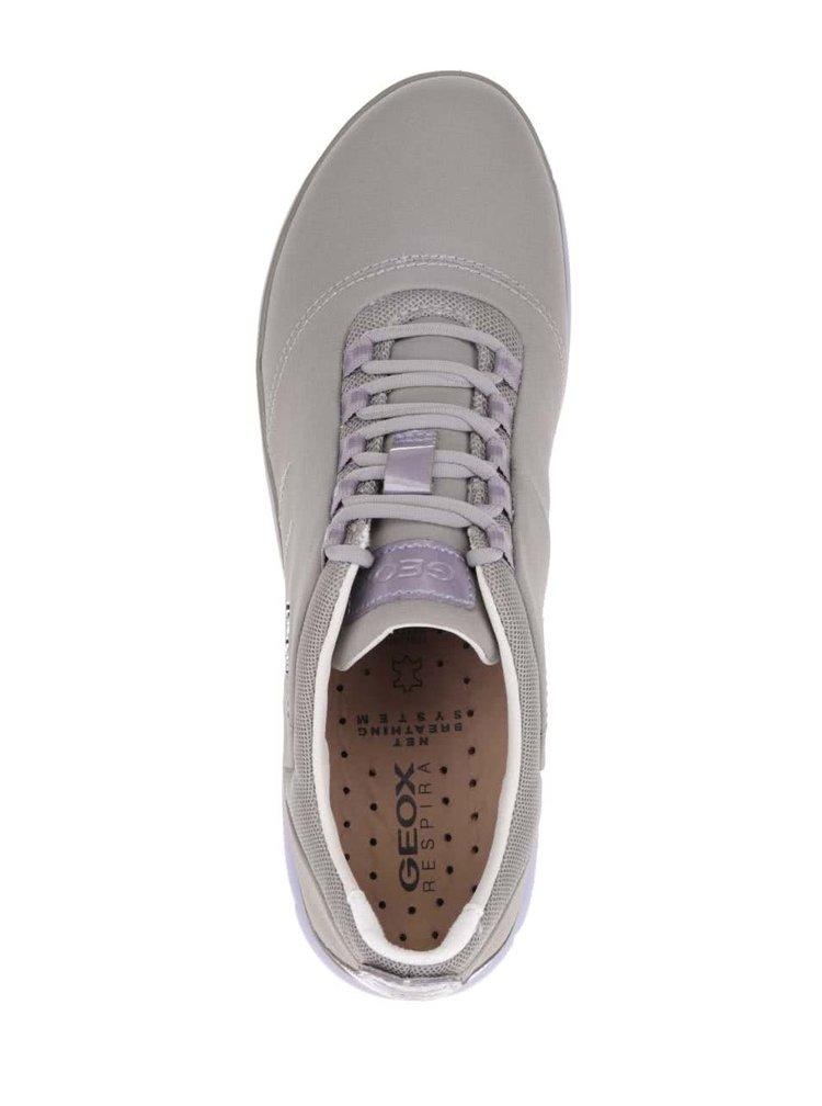 Pantofi sport violet & gri Geox Nebula
