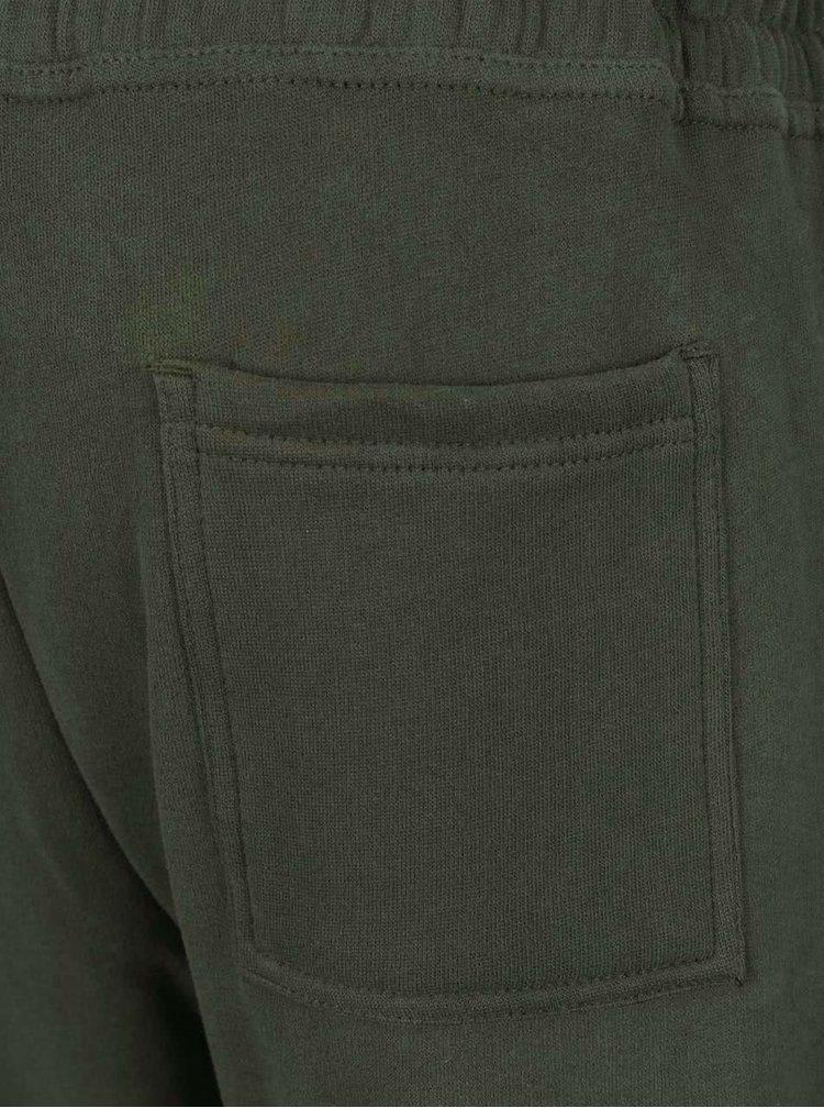 Khaki tepláky Burton Menswear London