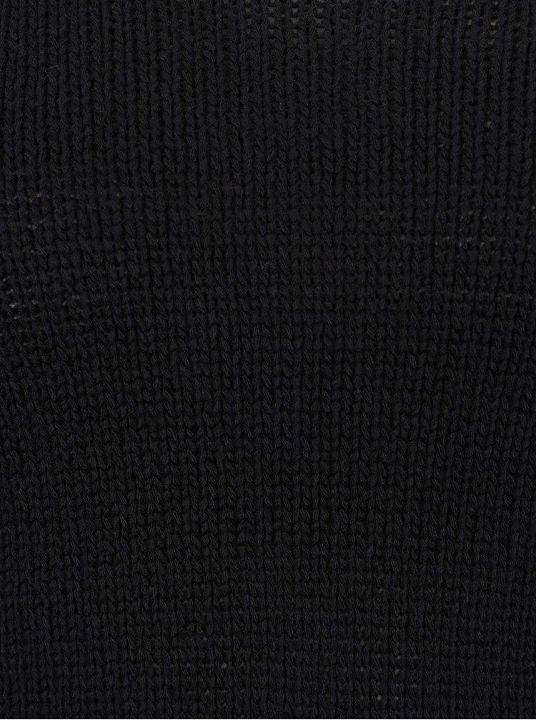 Pulover negru TALLY WEiJL cu decolteu amplu la spate