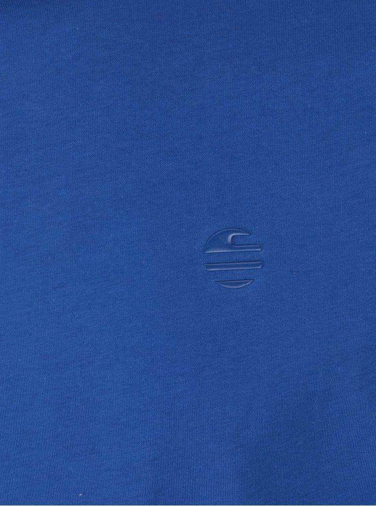 Modré pánské tričko s potiskem Perry Ellis Tour