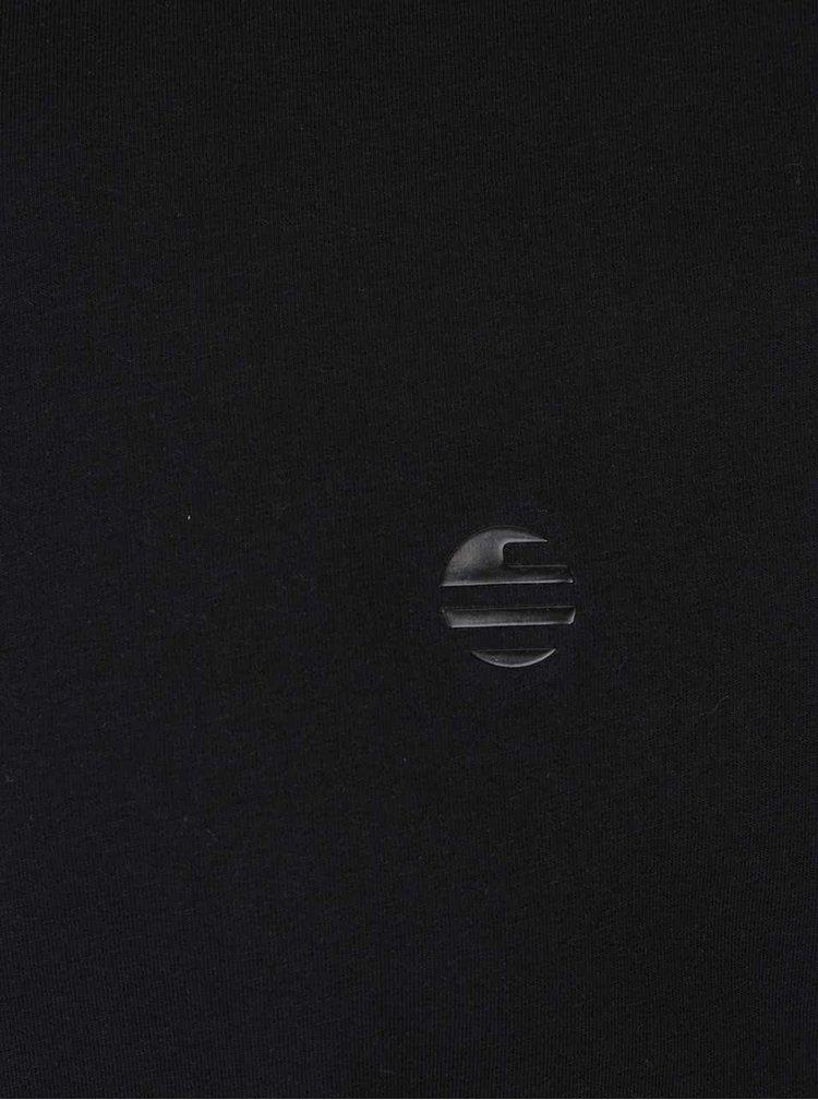 Tricou negru Perry Ellis Tour cu logo