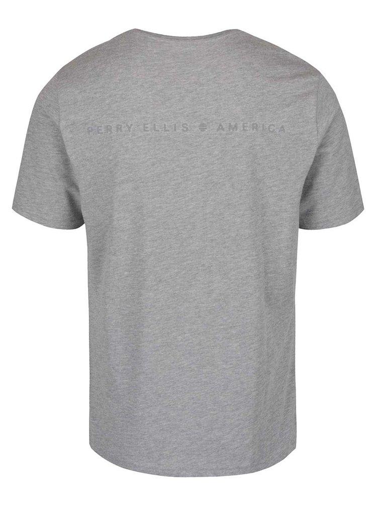 Tricou gri Perry Ellis Tour pentru barbati