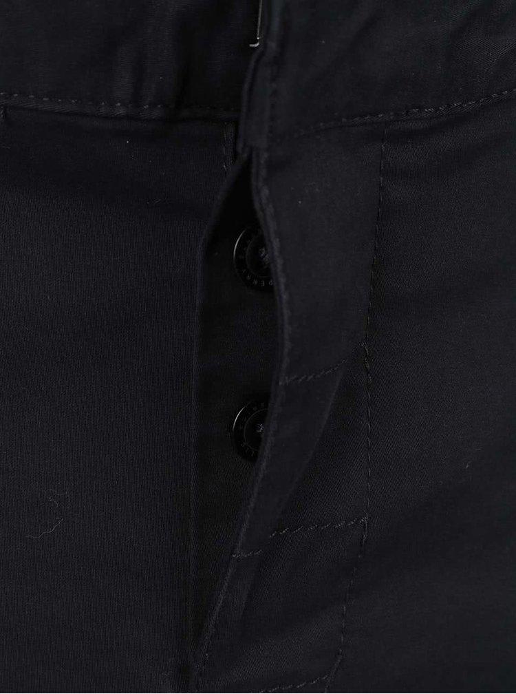 Černé pánské chino kalhoty Perry Ellis Eastside