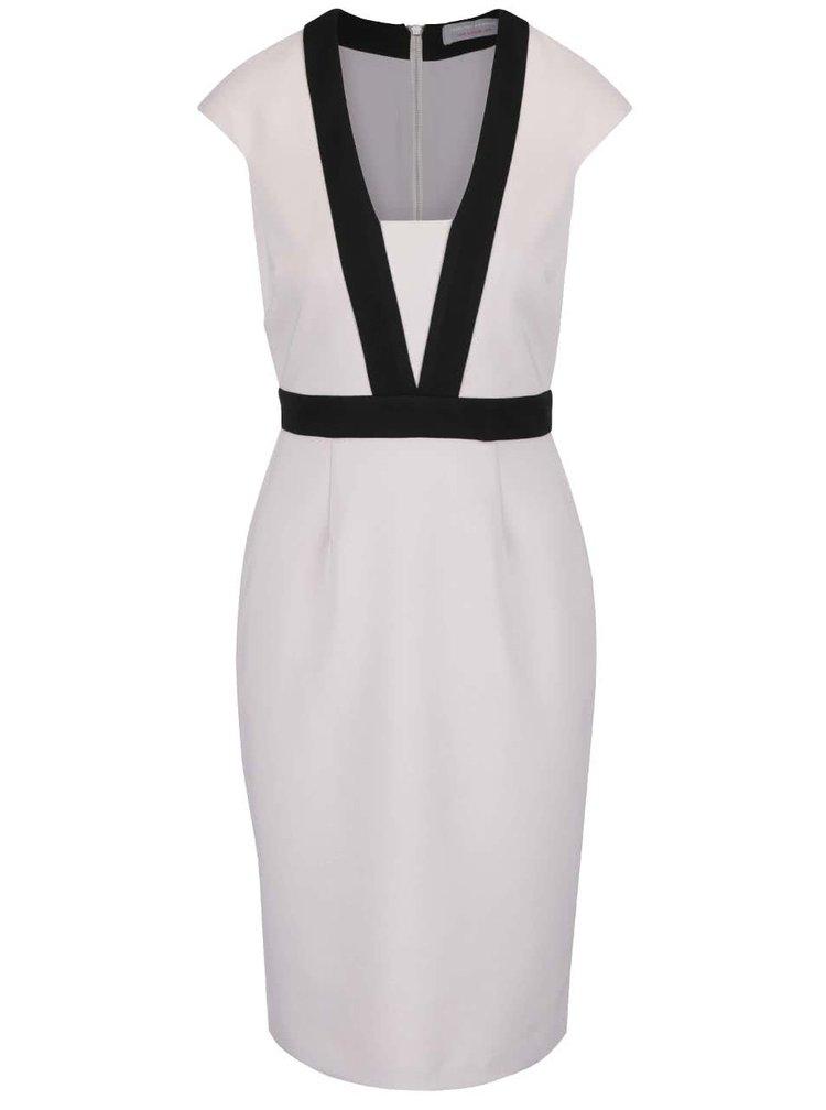 Světle šedé pouzdrové šaty Dorothy Perkins Petite