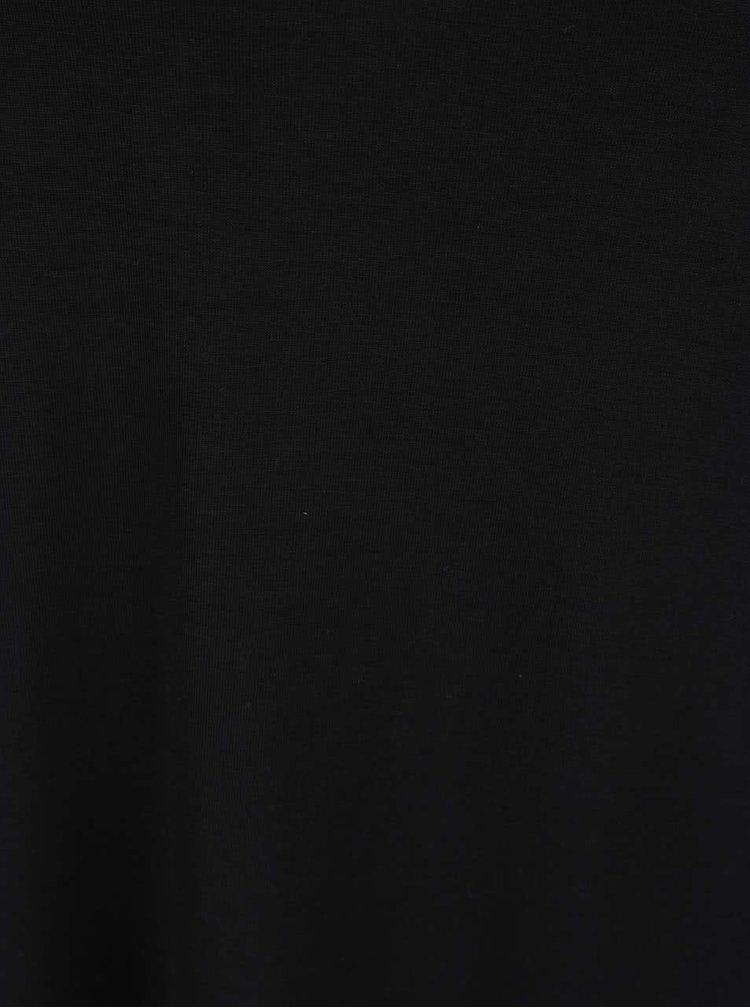 Černá halenka s 3/4 rukávy Dorothy Perkins