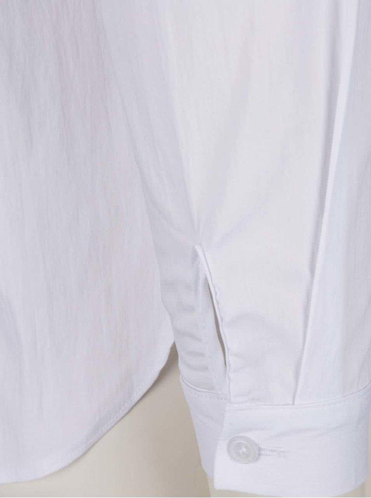Bílá košile s nášivkou srdce Dorothy Perkins Petite