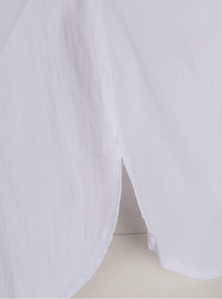 Cămașă albă Dorothy Perkins Petite cu aplicație