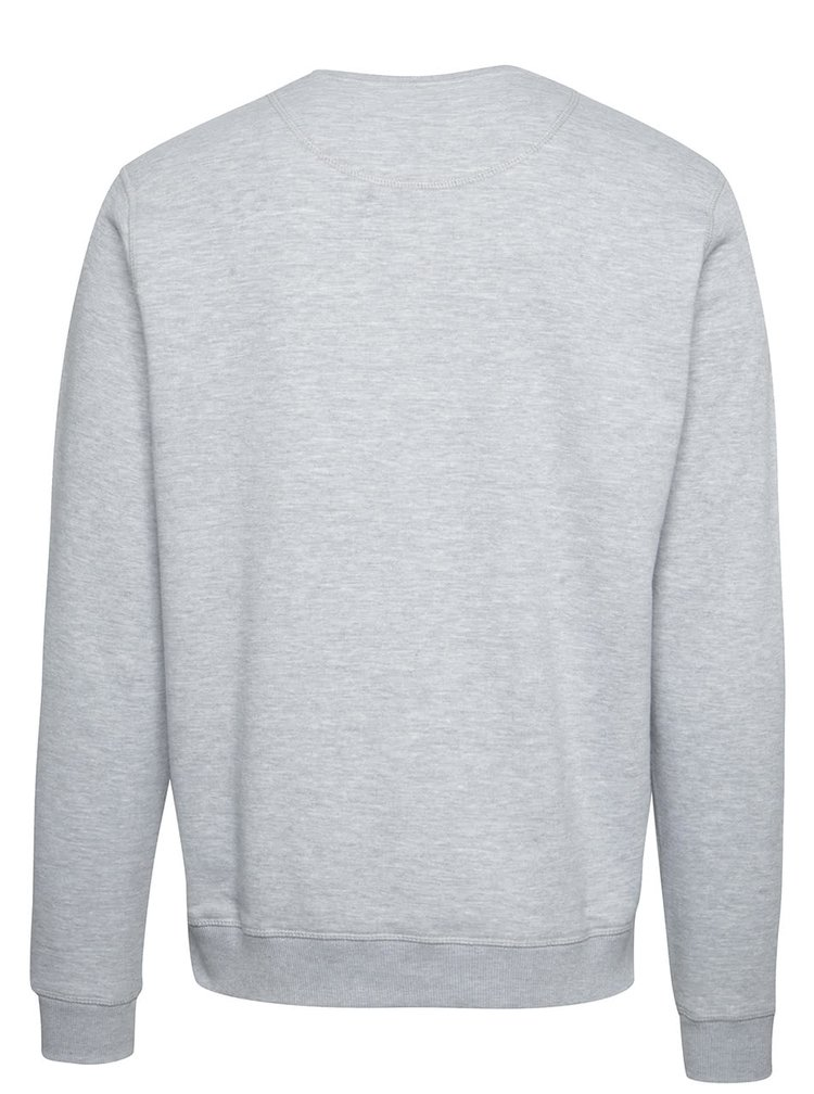 Bluză gri deschis Blend cu print