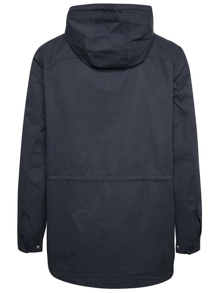Jachetă parka albastru închis Blend cu glugă