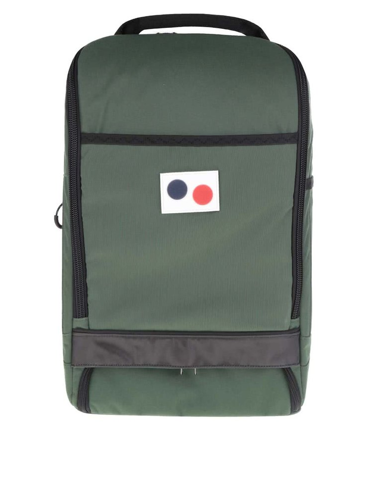 Tmavě zelený unisex batoh pinqponq Cubik Large 22 l