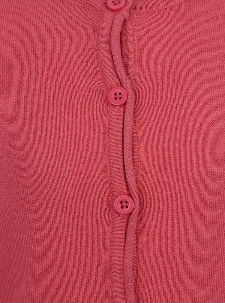 Růžový holčičí svetr s knoflíky name it Mania