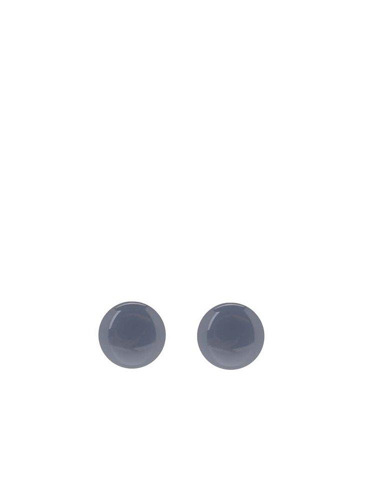 Cercei albastru prăfuit Pieces Miebe