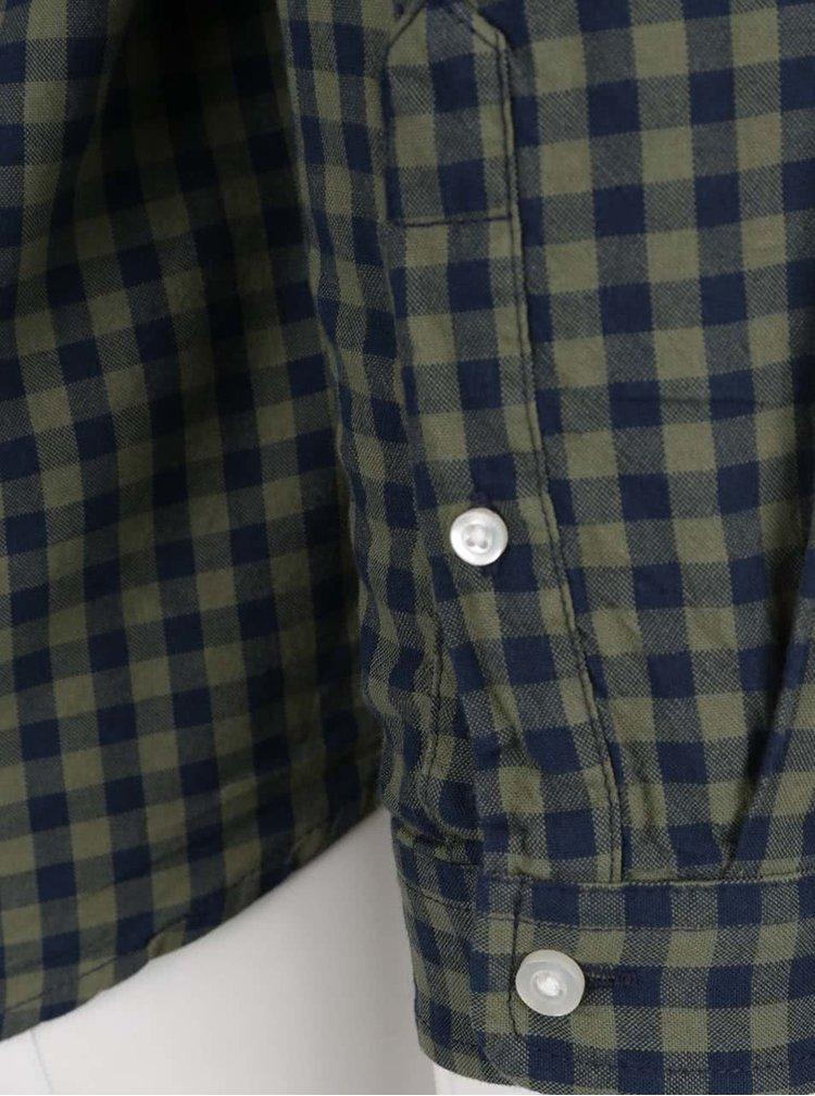 Modro-zelená kostkovaná košile ONLY & SONS Ragner
