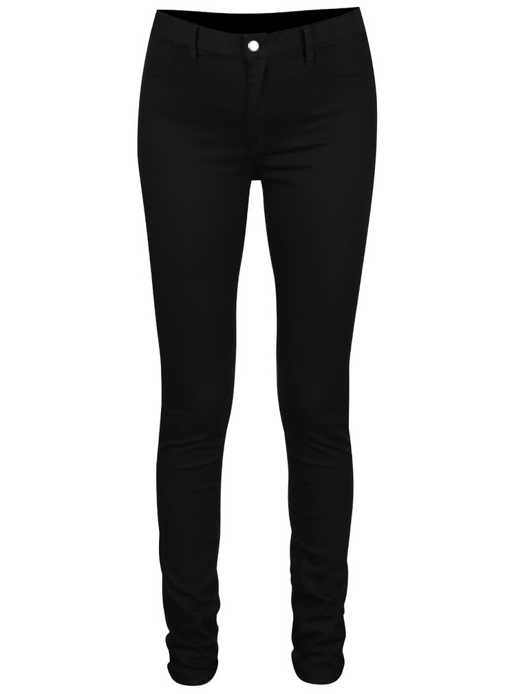 Černé jeggings Selected Femme Gaia