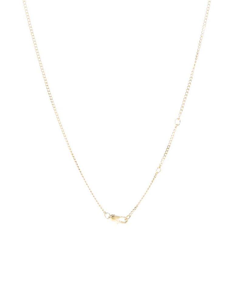Colier auriu Pieces Mathilde