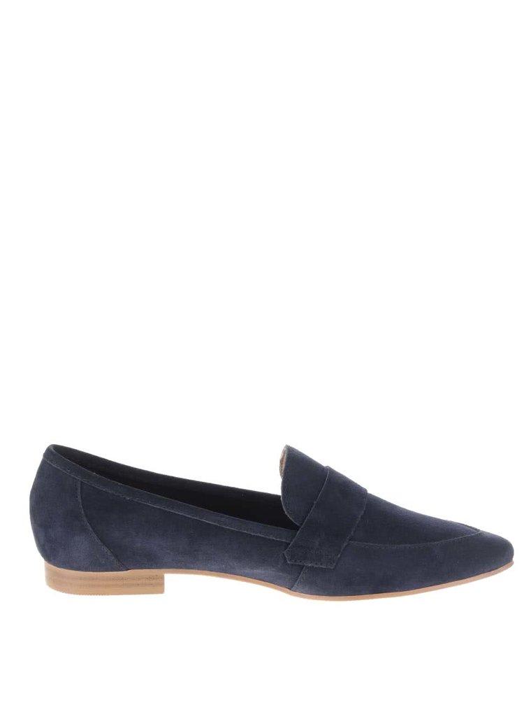 Pantofi loafer albastru inchis Pieces Palometa