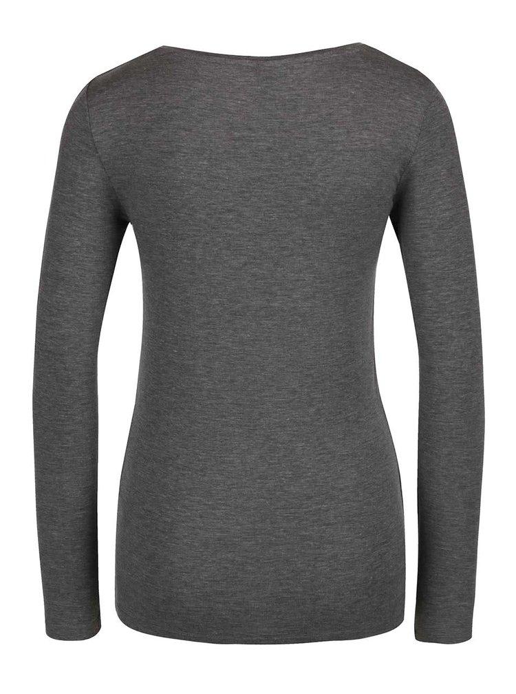 Bluză gri Selected Femme Paja