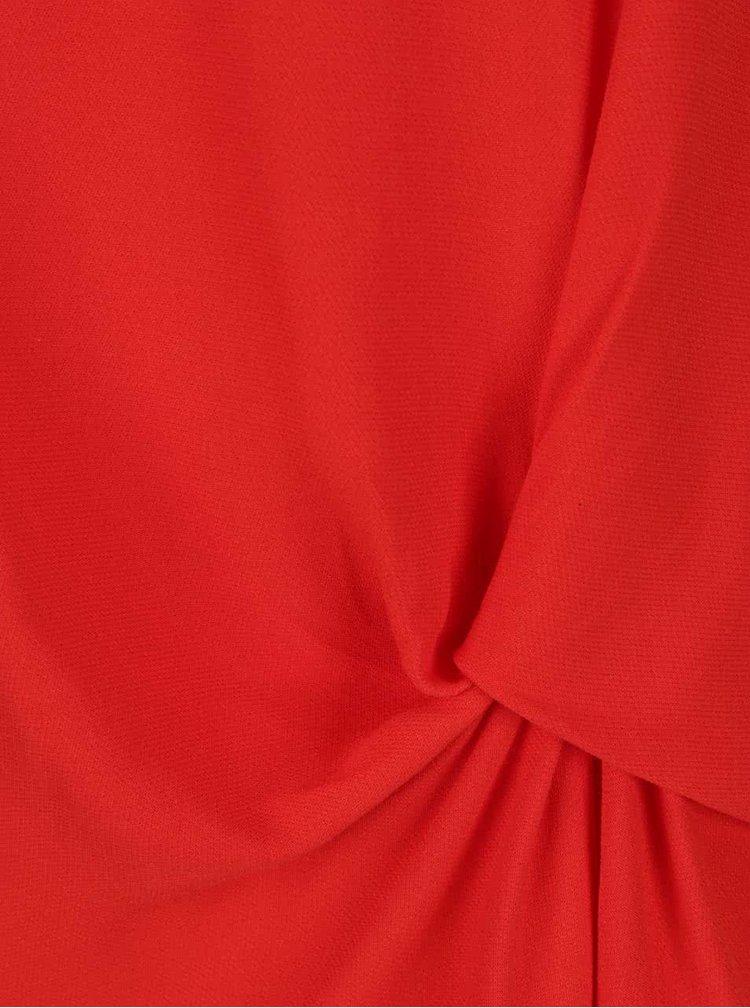 Červený volný top Selected Femme Boya