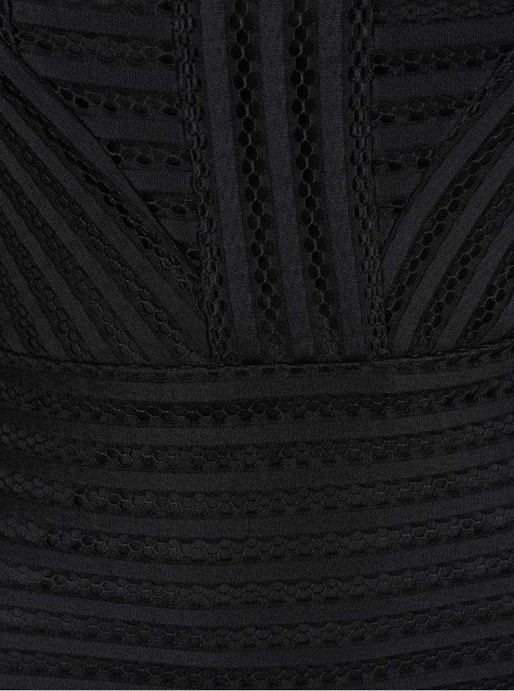 Rochie midi neagră AX Paris