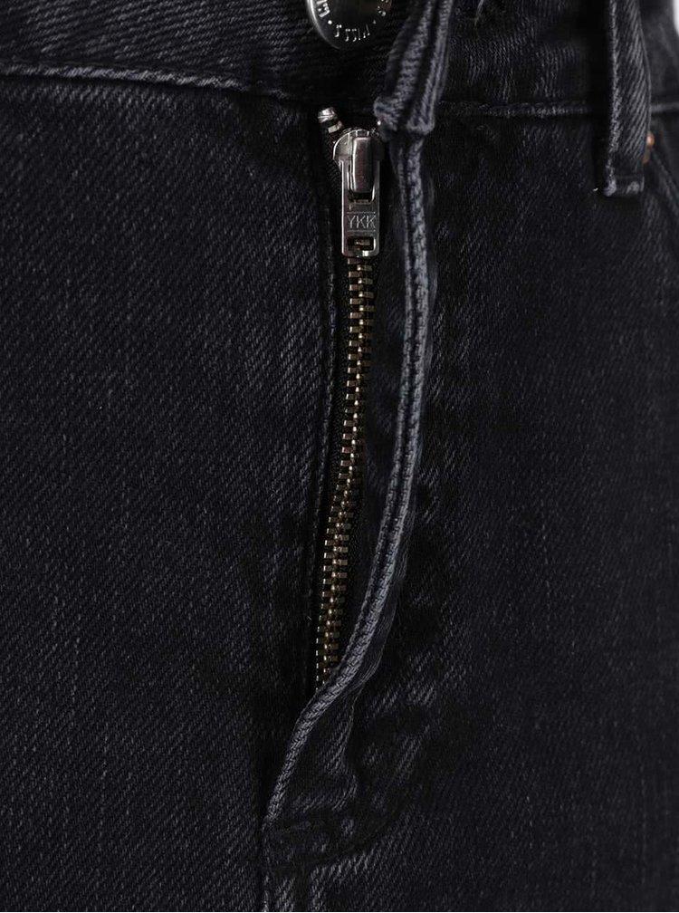 Černá džínová sukně Miss Selfridge